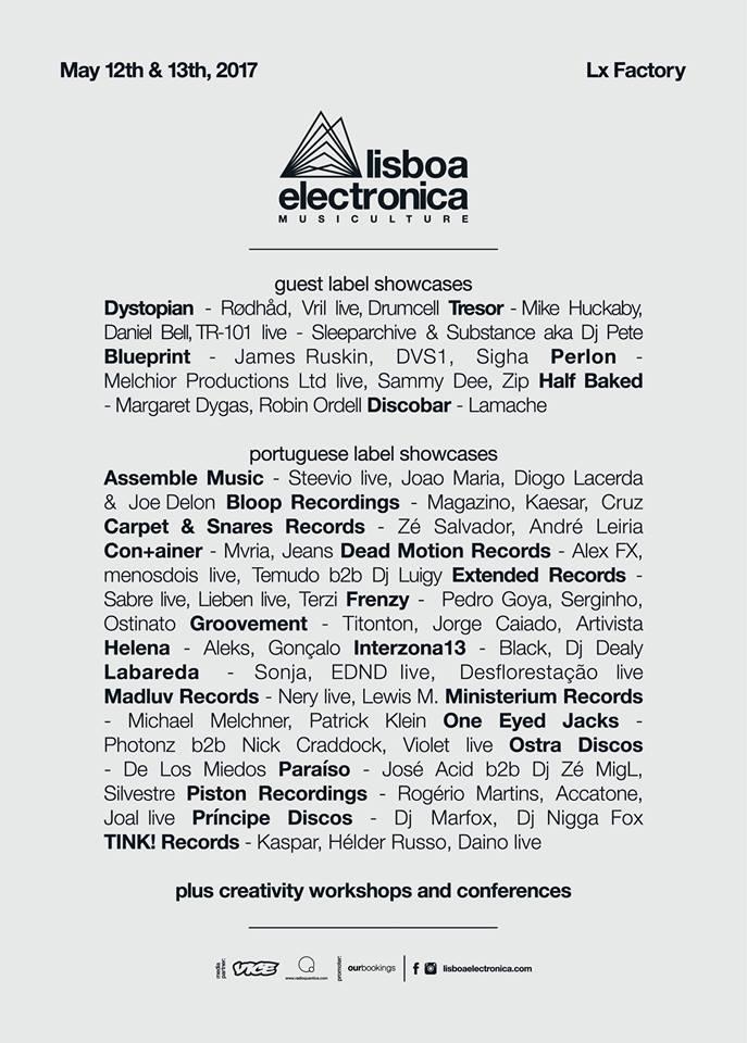 Perlon at Lisboa Electronica 12th May 2017