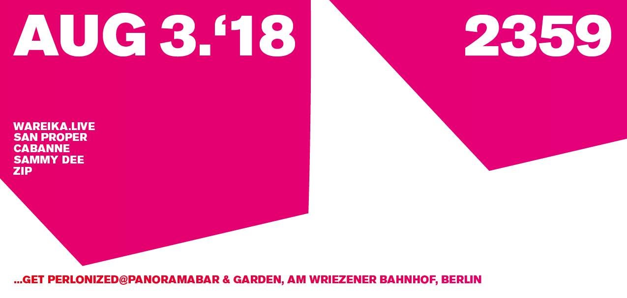 Sammy Dee: get perlonized at Panoramabar, Berlin every first Friday of the month