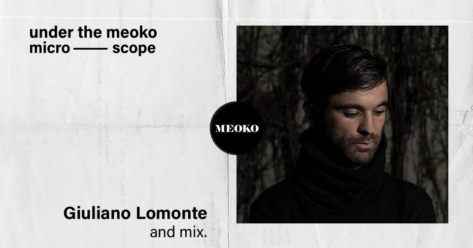 Giuliano Lomonte Interview Meoko