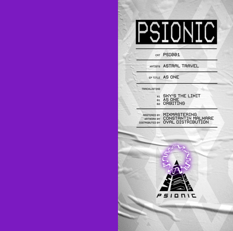 Oshana's new label Psionic Records kicks off with Astral Travel – As One EP